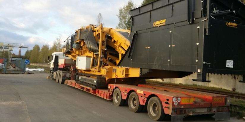 Перевозка негабаритных грузов в полном соответствии с установленными правилами