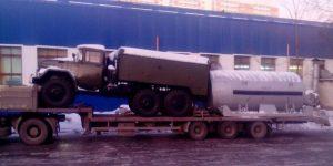 Негабаритные перевозки тралом Москва — Липецк