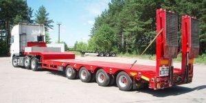 Перевозка негабаритных грузов тралом